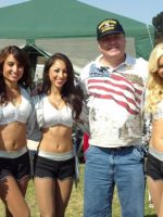 2012-09-Michael & Raiderettes