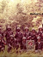 1982-09-Michael's Platoon at Infantry Training School, Camp Geiger, Camp LeJeune, NC