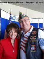 2013-04-13-Congresswoman Anna G. Eshoo & Michael L. Emerson