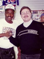 1995-02-Michael & Lester Hayes-Oakland Raiders