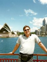 1998-12b-Michael in Sydney Harbor, Australia