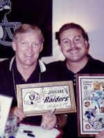 1995-08-Michael & Jim Otto-Oakland Raiders