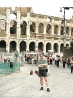 1999-08b-The Coliseum in Rome, Italy