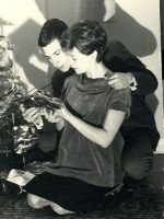 1962-12-Michael's Father Jacques & Mother Anne while pregnant with Michael