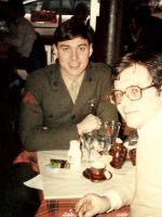 1983-04c-PFC Emerson & Uncle Gerard in Paris, France
