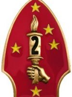 1982-10-2nd Marine Division Insignia - Camp LeJeune, North Carolina