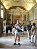 1999-08c-Michael at the Vatican in Rome, Italy