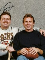 1995-12-Michael & Joe Montana-SF 49ers