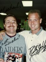 1996-01-Michael & Billy Jo Hobert-Oakland Raiders
