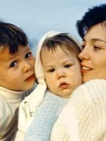 1966b-Michael with his baby Brother Christian and Mother Anne
