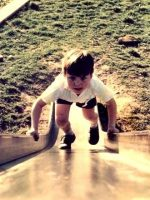 1967-08-Michael playing at the park