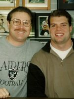 1996-02-Michael & Rob Fredrickson-Oakland Raiders
