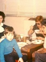 1967-11-Michael with brother Christian, mother Anne, parternal grandmother and paternal aunt Evelyn