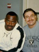 1996-11-Michael & Derrick Fenner-Oakland Raiders