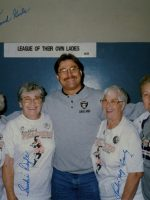 1996-12-Michael & Pro Baseball Ladies (League of thier own)