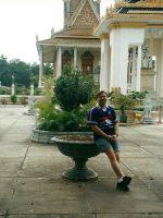 2000-10i-Michael in Phnom Pehn, Cambodia
