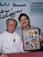 1997-02-Michael & Fred Biletnikoff-Oakland Raiders