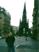 2001-07e-Michael in Edinburgh, Scotland