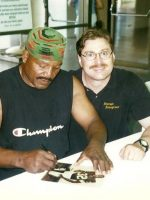 1997-05-Michael & Jim Brown-Cleveland Browns