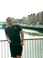 2001-07h-Michael in Dublin, Ireland