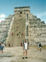 2001-11-Chichen Itza Pyramid in Cancun, Mexico