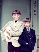 1973-Michael & his Brother Christian-Kensington, Maryland