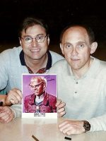 1998-08-Michael & Armin Shimerman (Quark)-Star Trek Deep Space Nine