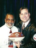 2001-01h-Michael & Bobby Bell-Kansas City Chiefs-NFL Hall of Fame