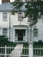 2002-09o-Author Ralph Waldo EMERSON's house in Concord, MA